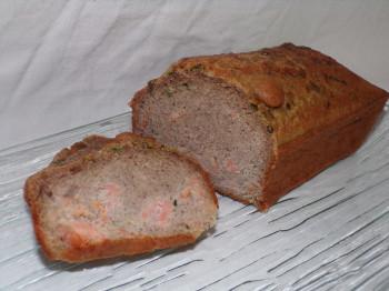 Cake Saumon ciboulette 100% blé noir